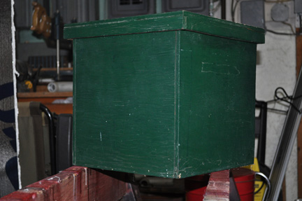 green box for web