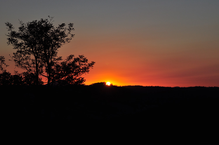 blueridge sunset